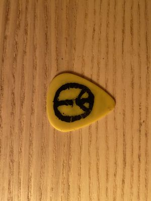 AUTHENTIC NEVERSHOUTNEVER TOUR GUITAR PICK for Sale in Ontario, CA