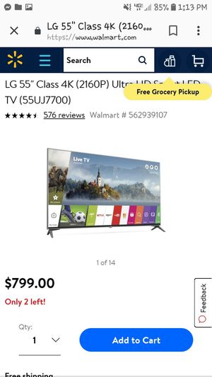 Brand new 55 inch Snart TV for Sale in Columbus, MS
