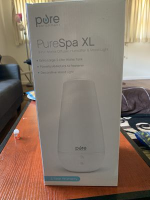 PureSpa XL Humidifier and Mood Light (New) for Sale in Stockton, CA