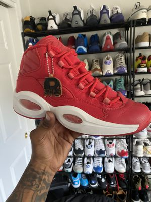 Reebok Question 'Red Canvas' for Sale in Taunton, MA
