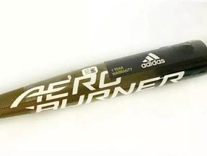 Adidas Aero Burner Alloy BBCOR Baseball Bat DN7059 Gold/Black 33in/30oz for Sale in Burnham, IL