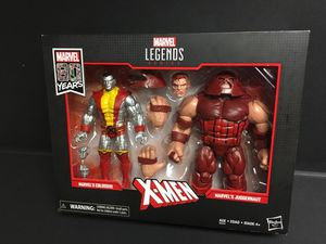 MARVEL 80 YEARS COLOSSUS AND JUGGERNAUT for Sale in Dallas, TX