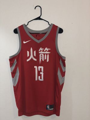 Size Large Men's Nike Houston Rockets James Harden #13 jersey for Sale in Lewisville, TX