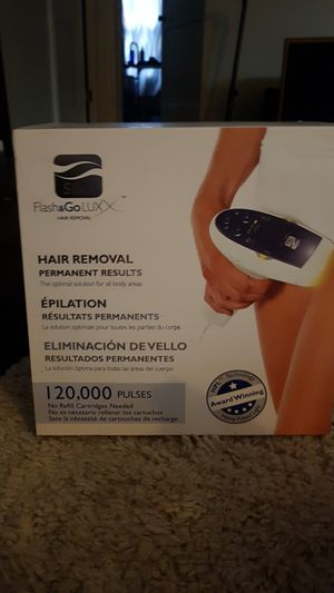 Flash & Go Luxx hair removal for Sale in Wichita, KS