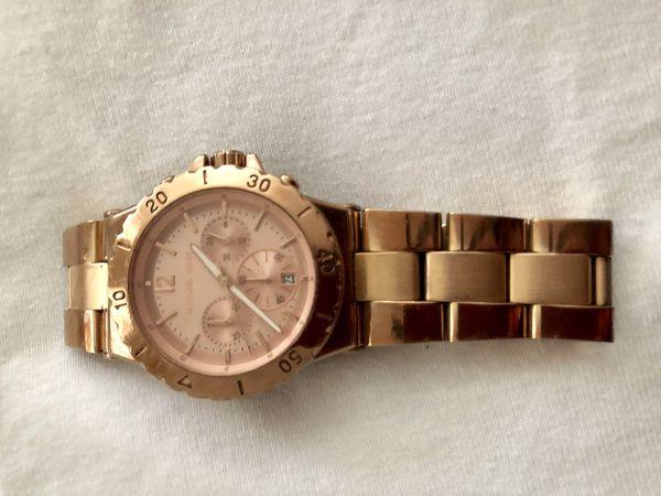 Rose Gold Michael Kor's watch