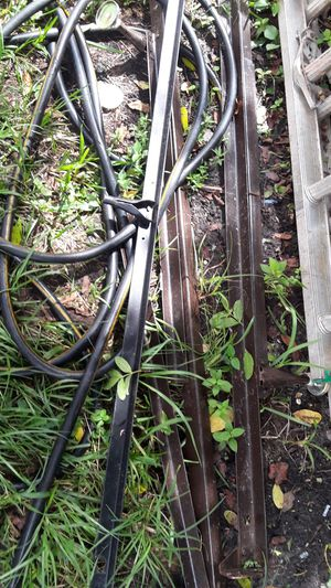 Free metal bed frames for welding for Sale in Port St. Lucie, FL