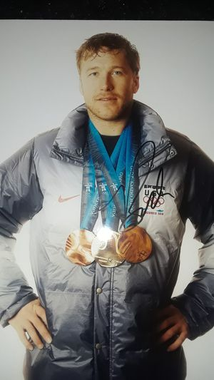 OLYMPIC SKIER LEGEND BODE MILLER AUTOGRAPHED 8 X 10 PHOTO for Sale in Clovis, CA