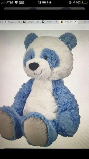 "Teddy Bear Stuffed Animal Large Plush Panda Blue & White, 14.5"" Spark. Create. for Sale in Miami, FL"