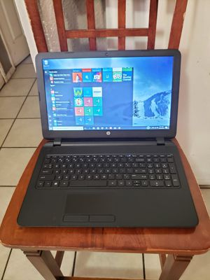 HP 15-F305DX LAPTOP WINDOWS 10 HOME AMD A6-5200 2.00 GHZ 4GB 500GB HD 15.6 INCHES WINDOWS 10 HOME for Sale in Glendale, AZ