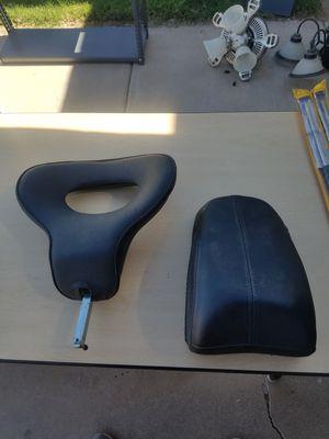 Corbin backrest and leather passenger seat $80 obo. for Sale in Phoenix, AZ