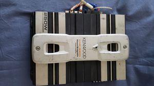 Kenwood Amplifier 250 Watts. $75. Pickup in Oakdale for Sale in Oakdale, CA