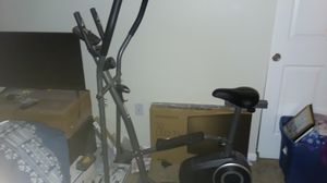Weslo exercise and elliptical bike for Sale in Pataskala, OH