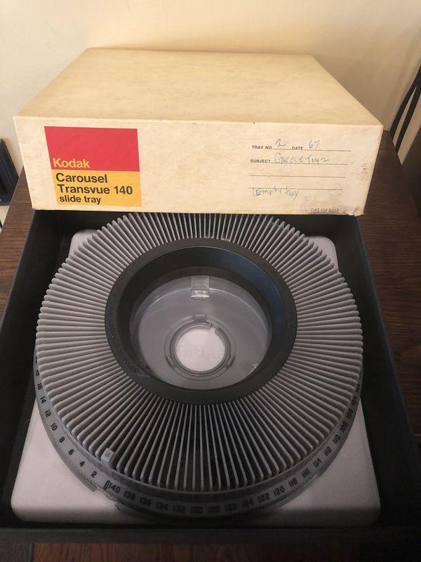 Kodak Transvue Carousel Slide Tray