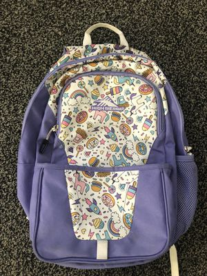 Unicorn girl backpack for Sale in Palmdale, CA