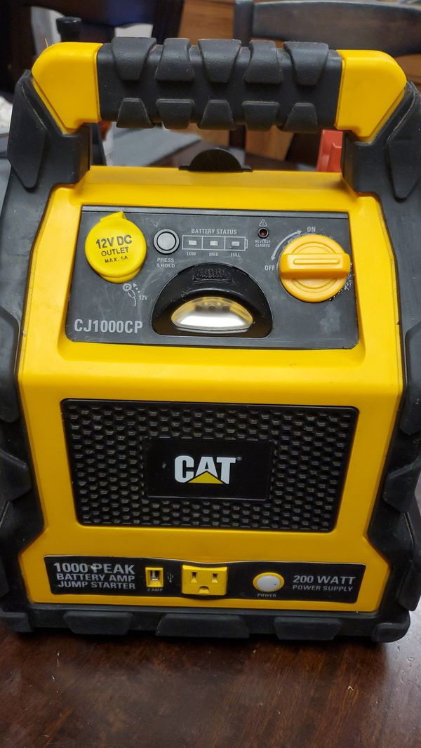 Cat battery jumper 3 in 1