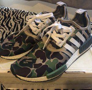 **RARE** Adidas NMD_R1 Shoes. BAPE EDITION Size 9 for Sale in La Puente, CA
