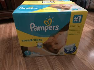Pampers Diapers for Sale in Zephyrhills, FL