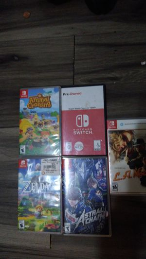 Nintendo Switch Games For Sale for Sale in Phoenix, AZ