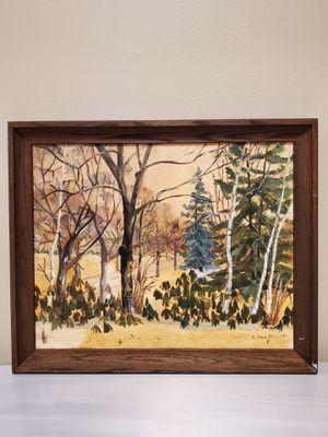 "L Van Huyett FRAMED Original Oil on Canvas - 22.5"" W x 18.5"" H x 2"" Deep - firm price. for Sale in Arlington, VA"