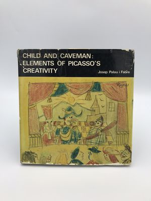 "Vintage ""Child and Caveman"" PICASSO BOOK for Sale in Alameda, CA"