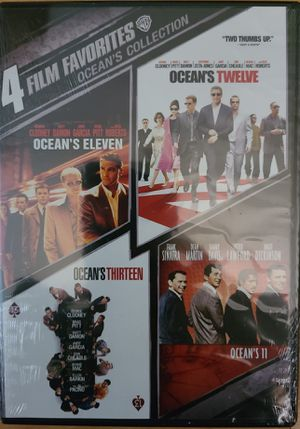 OCEANS collection DVD 4 movie set for Sale in Riverside, CA