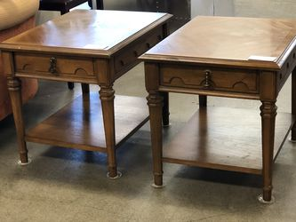 Vintage Drexel Esperanto Collection Side Tables (two available, priced individually) for Sale in Puyallup,  WA