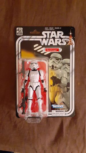 Star wars black series 40th anniversary stormtrooper moc for Sale in Goodyear, AZ