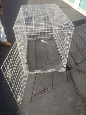 Xxxl heavy duty safe clean new dog cage/crate delivery is possible for Sale in Philadelphia, PA