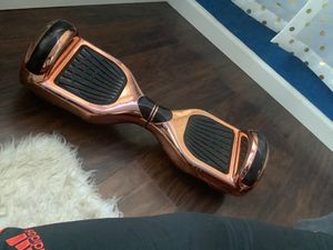 Bluetooth rose gold hoverboard 😍😍😍 for Sale in Newark, NJ
