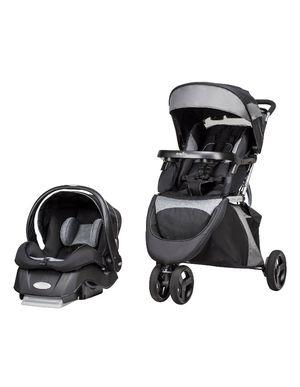 Stroller car seat, evenflo advanced sensor safe epic 2 in 1 travel sistem for Sale in Arlington, TX