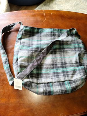 Plaid bag for Sale in Jefferson, OH
