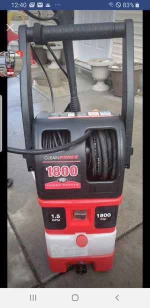 Pressure washer electric 1800 psi for Sale in West Valley City, UT