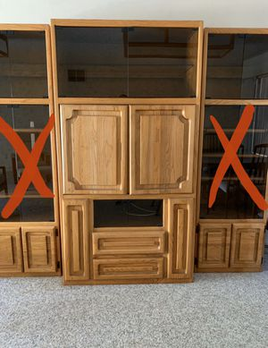 FREE Solid Wood Entertainment Center for Sale in Vista, CA