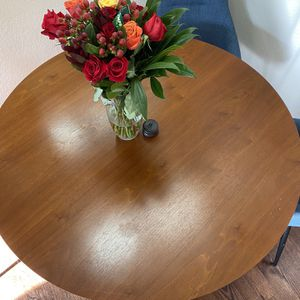 Brand New Round Wooden Table for Sale in Aurora, CO