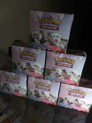 POKEMON SWORD & SHIELD BASE SET BOOSTER PACKS AVAILABLE BRAND NEW & FACTORY SEALED $5 PER PACK!!! for Sale in Phillips Ranch, CA