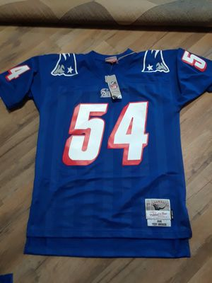 New Teddy Bruschi Throwback Stitched Jersey for Sale in Melrose, MA