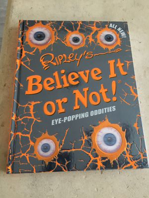 Ripley's Believe It or Not Book Eye Popping Oddities for Sale in West Palm Beach, FL