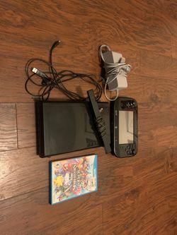Wii U 32 GB BLACK for Sale in Reedley,  CA