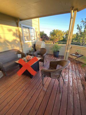 Patio Furniture Set for Sale in Los Gatos, CA
