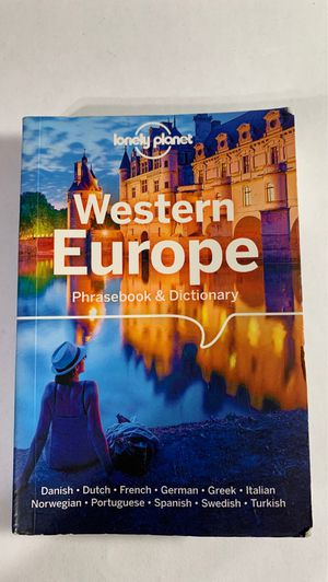 Lonely planet Western Europe for Sale in Compton, CA