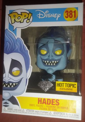 "Disney Hercules ""Hades"" Hot Topic Exclusive Diamond Edition Funko Pop for Sale in Los Angeles, CA"