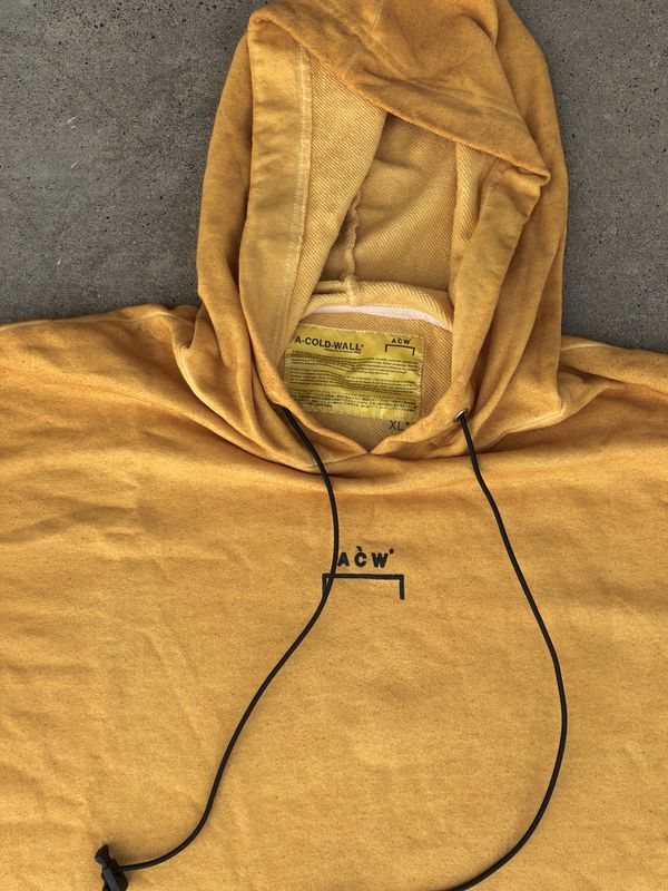 A Cold Wall ACW Yellow Hoodie