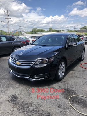 2017 Chevy Impala $ 3000 Down Payment for Sale in Nashville, TN