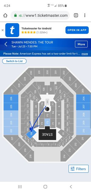 Two shawn Mendes tickets for Sale in San Antonio, TX