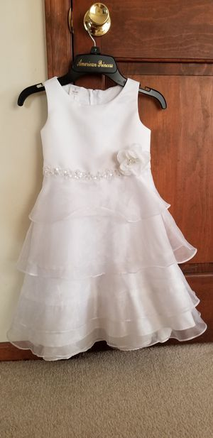 Size 4 Kid Collection Organza Flower Girl Dress for Sale in Raleigh, NC