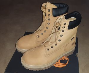 Timberland Pro steel toed work boots - size 10 and a 1/2 for Sale in Taunton, MA