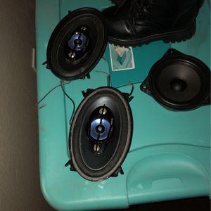 Sony 4x6 Speakers for Sale in Visalia, CA
