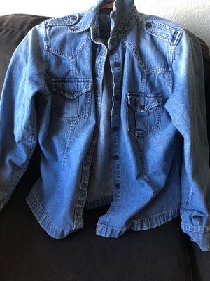 Xl women's Levi jean shirt for Sale in Phoenix, AZ