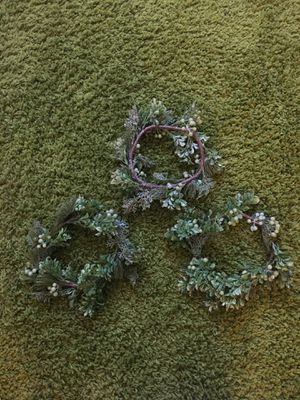 Three holiday wreaths for Sale in Salt Lake City, UT