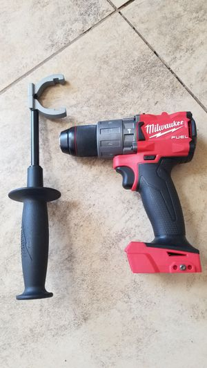 New Milwaukee FUEL 18-Volt Lithium-Ion 1/2 in. Hammer Drill (2804-20) for Sale in Hemet, CA